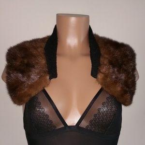 Vintage Accessories - Vintage Fur collar